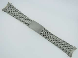 Authentic Mens Rolex Stainless Steel Jubilee Bracelet Watch Band 20mm