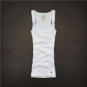 Hollister by Abercrombie Women Bolsa Chica Tank Cami Top Tee T Shirt