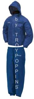 PRO ACTION ROYAL BLUE FROGG TOGGS RAIN GEAR PANTS/JACKET SUIT FISHING