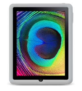 NEW CLEAR WHITE SILICONE SKIN CASE COVER for APPLE iPad