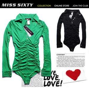 NEW Stunning Slim Long MISS SIXTY Lady Cool T shirt Top
