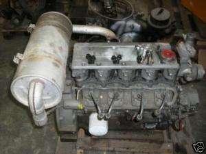 Motor ISUZU 4 Zylinder 4LE1 ohne Zylinderkopf
