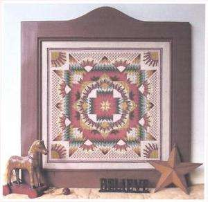 Rosy Radiant Star Counted Cross Stitch Patterns   Linda Myers Designs