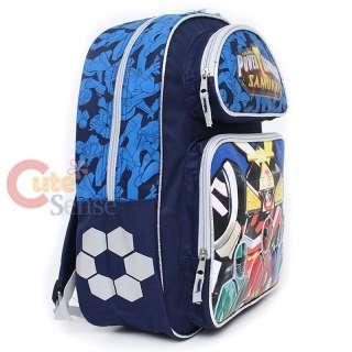 Mighty Morphin Power Rangers School Backpack Large Bag Samurai 3