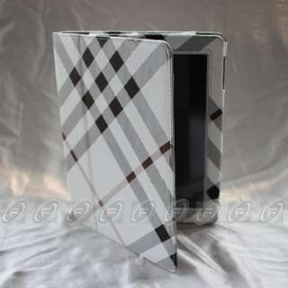iPad 3 / iPad 2 Folio Magnetic PU Leather Smart Case Cover with Stand