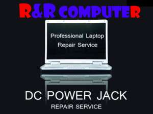 HP COMPAQ Laptop DC Power Jack DC JACK Repair Service