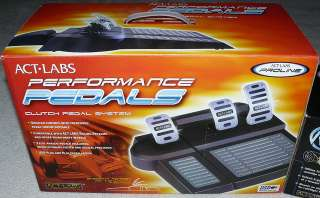 pedal brake pedal throttle pedal and all required usb cables and hub