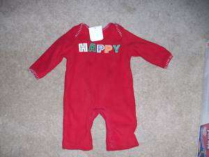 NWT OLD NAVY INFANT GIRLS CHRISTMAS OUTFIT 0 3 MONTHS
