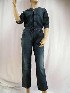 Neu Damen Jeans Overall DIESEL JAKUIN, Blau, xS, S, M