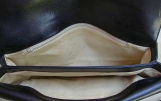 Vinage Black Logo Canvas & Leaher GUCCI Cluch Bag~Purse |