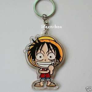 One Piece Monkey D Luffy Manga Schlüsselanhänger