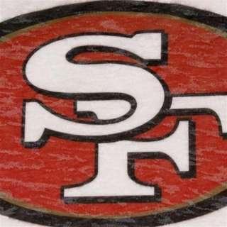 Ladies San Francisco 49ers Touch by Alyssa Milano Burnout Shirt sz S