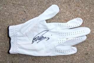 PGA Tour RYO ISHIKAWA Signed Yonex Glove Japan PROOF