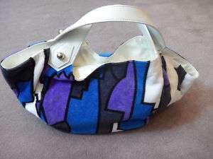 Emilio Pucci Shoulder Bag Tote Leather Bag