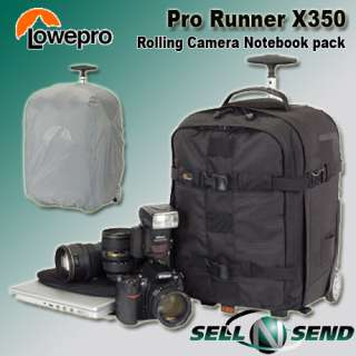 Runner x350 AW DSLR Rolling Digital Camera Backpack for Nikon Canon