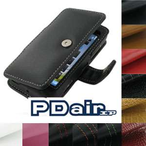 PDair Genuine Leather Case for Nokia N8   Book Type (Black)