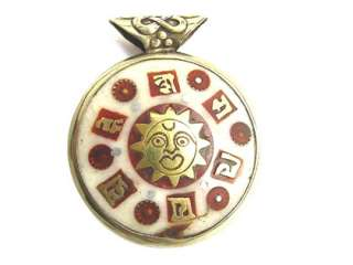 Very delicate flawless Amulet Pendant, handmade by the artists of