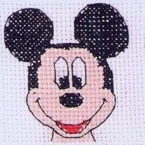 Disney Mickey Mouse Cross Stitch Kit Mickey Quickie 5055185202331