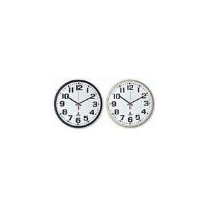 Slimline Quartz Clocks   Movement Battery, Case Color