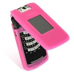 Hot Pink Premium Silicone Skin Cover Case Cell Phone