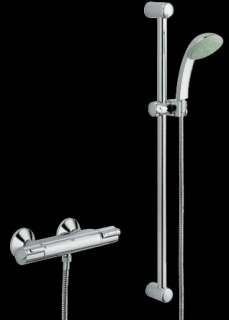 hans grohe showerpipe croma 160 27135 thermostat duschsystem. Black Bedroom Furniture Sets. Home Design Ideas