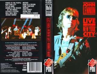 John LENNON Live in New York city (VHS) 1972