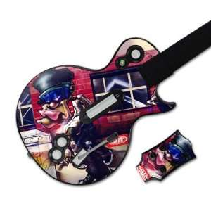 MusicSkins MS CNRT20026 Guitar Hero Les Paul  Xbox 360 & PS3  Conart