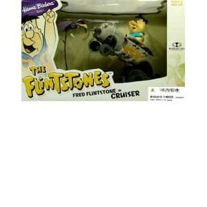 Hanna Barbera Series 1: Fred Flintstone in Cruiser Vehicle