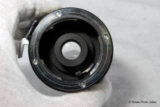 Minolta Sun 3X teleconverter lens MC Tele Up SRT camera