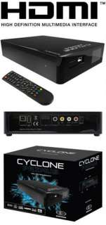 PLAYER HDMI 1080P CYCLONE PRIMUS HD MKV HARD DRIVE for TV FILMS