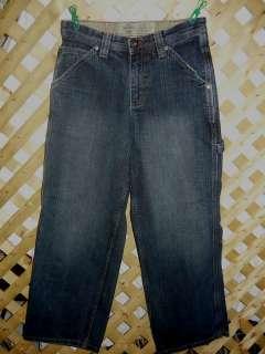 LEE Dungarees Boys 14 Adjustable Waist Carpenter Jeans