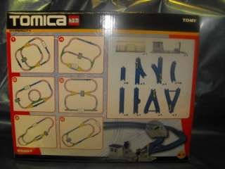 Tomy, Tomica City, Thomas 6 Track Layouts Rail Set BNIB
