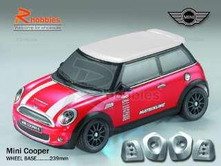 10 M03 Mini PC Transparent RC On Road Car Body Shell