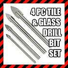 6pc GLASS PORCELAIN CERAMIC TILE DRILL BIT TOOL SET