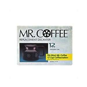 Mr Coffee Replacement Decanter/Carafe 12 Cup D12a