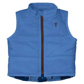 Play Boys Winter Wear Waterproof Insulated Vest   Navy Yeti (X Large