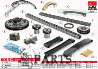 NISSAN PICK UP (D22) 2.5 Di 4WD Timing Chain Kit