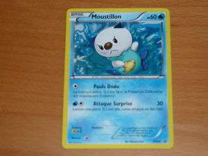 CARTE POKEMON ULTRA RARE MOUSTILLON BW08 HOLO NEUVE VF