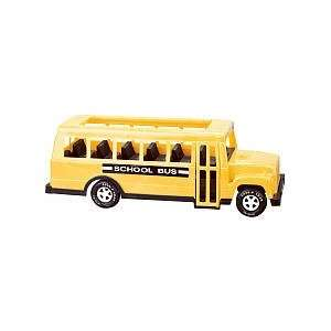 American Plastic Toy School Bus   18 inches Toys & Games
