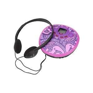 Girls Printed CD Player   Pink Toys & Games
