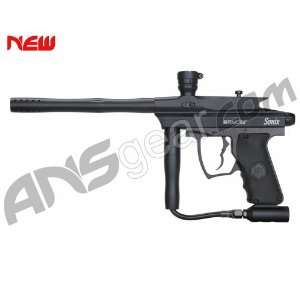 Kingman Spyder Sonix w/ E Frame Paintball Gun   Black