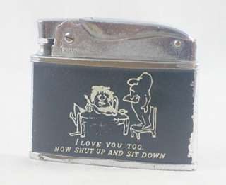 Vintage Penguin Superlative Novelty Automatic Lighter made in Japan