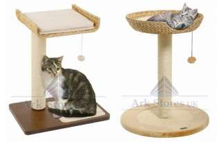 LUXURY CAT TREE BANANA SCRATCHER SCRATCHING POST & BED