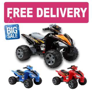 12V KIDS RIDE ON QUAD BIKE BUGGY ELECTRIC BATTERY OPERATED CAR FOR