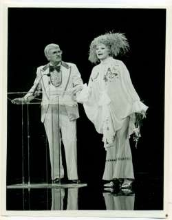 LUCILLE BALL, ARCHIE CAMPBELL original TV photo 1978