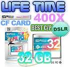 32GB Silicon Power ULTIMATE COMPACT FLASH CF MEMORY Card  High speed