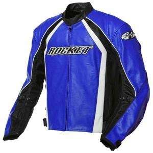 Joe Rocket Blaster 4.0 Perforated Jacket   46/Blue/Black/White