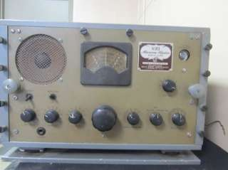 Vintage Scott Marine Radio Model SLRM WW2 Era