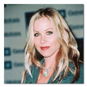 Christina Applegate Color Box Canvas Print Gallery Wrapped