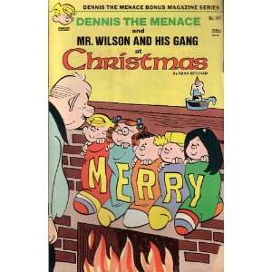 Dennis the Menace and Mr. Wilson and His Gang At Christmas, #147 HANK